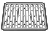 OXO Spülbeckenmatte klein 31x29x1,3cm grau (13190610MLNYK)