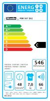 Miele PDR 507 EL D LW Ablufttrockner, elektrobeheizt (11050500)