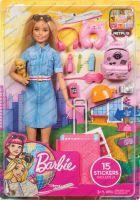 Mattel BRB Reise Puppe (blond) und Zubehör (57132787)