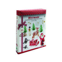 Westmark Ausstecher 3D Set Santa Claus 9-tlg (3198)