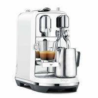 SAGE Nespresso-Maschine - the Creatista Plus, matt weiß (SNE800SST2EAT1)