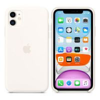 Apple iPhone 11 Silicone Case White                  MWVX2ZM/A