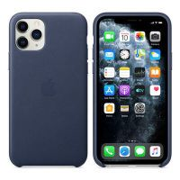 Apple iPhone 11 Pro Leather Case Midnight Blue          MWYG2ZM/A