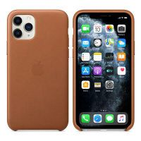 Apple iPhone 11 Pro Leather Case Saddle Brown           MWYD2ZM/A