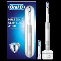 Oral-B Pulsonic Slim Luxe 4100 Platinum Elektrische Zahnbürste