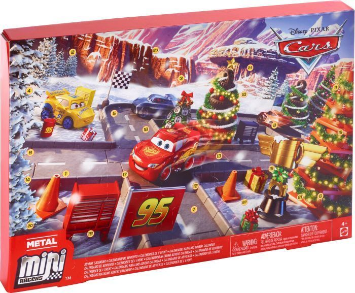 Mattel AK CA Cars Adventskalender 2019 (85412477)
