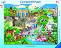 Ravensburger Pz. Besuch im Zoo 45T (60358311)
