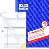 LIEFERSCHEINE A5 SD 1720