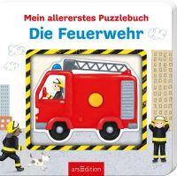 ars Edition Mein allererstes Puzzlebuch - Feuerwehr (66473317)