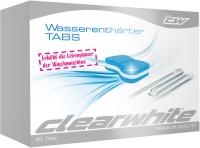 Clearwhite Waschmaschinen-Zubehör CW35039 Wasserenthärter TABS 45 Stück