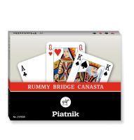 Piatnik, Rummy, Bridge, Canasta, Mehrfarbig (STD)
