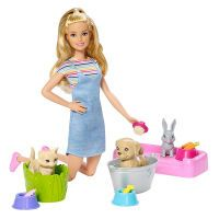 Mattel Barbie, Play N Wash Puppe, 29 cm