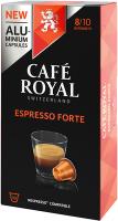 Cafe Royal Kaffeekapseln für Nespressomaschinen Espresso Forte 10 Stück