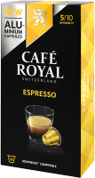 Cafe Royal Kaffeekapseln für Nespressomaschinen Espresso 10 Stück