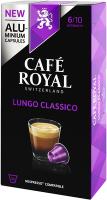 Cafe Royal Kaffeekapseln für Nespressomaschinen Lungo Classico 10 Stück
