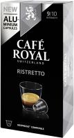 Cafe Royal Kaffeekapseln für Nespressomaschinen Ristretto 10 Stück