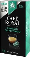 Cafe Royal Kaffeekapseln für Nespressomaschinen Espresso Decaffeinato 10 Stück