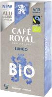 Cafe Royal Kaffeekapseln für Nespressomaschinen Lungo Bio 10 Stück