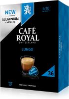 Cafe Royal Kaffeekapseln für Nespressomaschinen Lungo 36 Stück