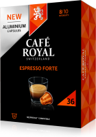 Cafe Royal KAPSELN FÜR NESPRESSOMASCHINEN (ESPRESSO FOR.XL 36ST)
