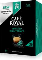 Cafe Royal Kaffeekapseln für Nespressomaschinen Espresso Decaffeinato 36 Stück
