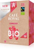 Café Royal Kapsel-System 10165132 Espresso Bio/Organic XL Box 36 Kaps