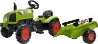 FALK Tret-Traktor Claas mit Hänger 2-5 J. (70406021)