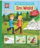 Tessloff WIW Kindergarten Malen Rätseln Stickern (67546512)