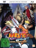 Naruto - Die Legende des Steins von Gelel - The Movie 2 - Limited Edition (Blu-ray+DVD)