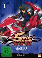 Yu-Gi-Oh! 5Ds - Staffel 1: Episode 01-26 (5 DVDs)