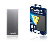 Varta 57965101111 Slimline Powerbank 6.000mah (57965101111)