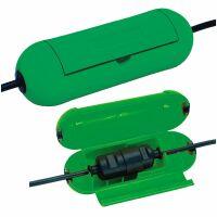 Brennenstuhl Schutz-Box für Verlängerungskabel, kapsel, grün (1160400)