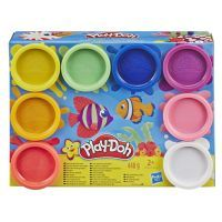 Hasbro Play Doh, 8er Pack sortiert, Knete und Zubehör, 57x215x161cm