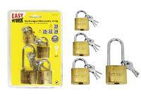 Multipack EASY WORK EW Vorhangschlosssatz 4-tlg. (78106) - 6 Stück