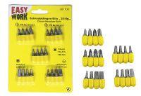 Multipack EASY WORK EW Schraubklingen-Bits 20-tlg. () - 12 Stück