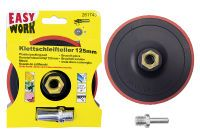 Multipack EASY WORK EW Schleifteller mit Klett 125 (73352) - 5 Stück