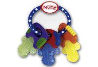 Multipack Nuby Beissring-Schlüssel (ID455) - 6 Stück