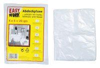 Multipack EASY WORK EW Abdeckfolie 4x5m,transparen (25001) - 20 Stück