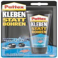 Henkel Pattex, Klebe- und Dichtmasse wasserresistent, Kleben Statt Bohren, weiß, 142 g