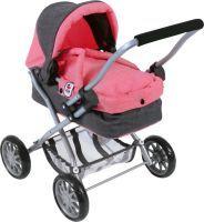 CHIC 2000 Puppenwagen Smarty Melange anthr.-pink (55207801)
