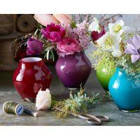 Villeroy & Boch Oronda Mini Vase deep cherry