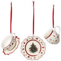 Villeroy & Boch Toy's Delight Decoration Ornamente Geschirrset 3tlg.