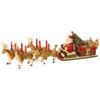 Villeroy & Boch Christmas Toys Memory Santa's Schlittenfahrt