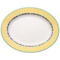 Villeroy & Boch Twist Alea Limone Platte oval