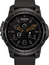 Nixon Smart Watch Mission, Black
