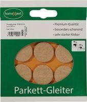 Parkettgleiter Premium 25 mm Filz natur rund selbstklebend
