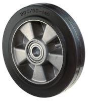 Ersatzrad Rad-Ø 200 mm Tragfähigkeit 450 kg Gummi Achs-Ø 20 mm Nabenlänge 60 mm