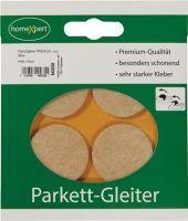 Parkettgleiter Premium 35 mm Filz natur rund selbstklebend