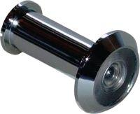 BMB Türspion Messing verchromt 200 Grad 35 mm / 60 mm