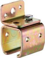 HELM Wandbefestigungsmuffe -01 Modell 301 Profil 300 Stahl galvanisch verzinkt